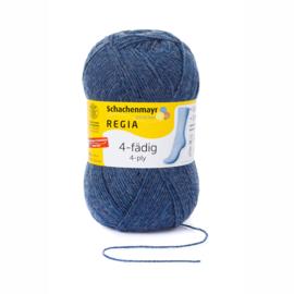 Regia 100gr Jeansblauw gemeleerd