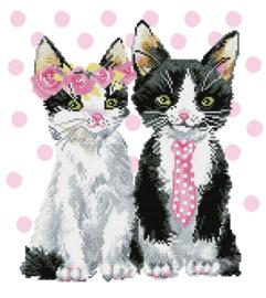 Diamond Dotz 'Mr & Mrs Pink'