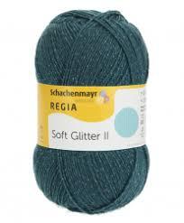 Regia Soft Glitter 100gr Flessengroen