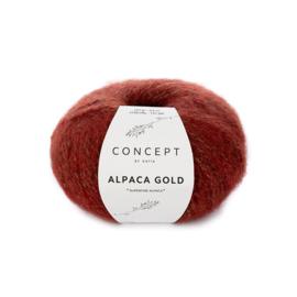 Alpaca Gold Rood/Goud