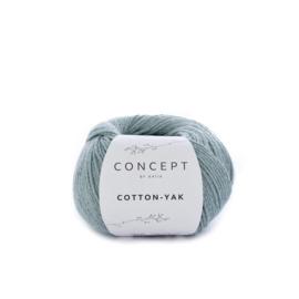 Cotton-Yak Waterblauw