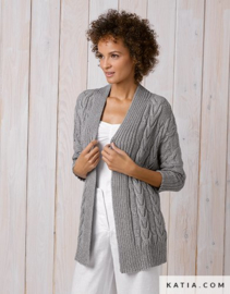 Damesvest Cotton-Cashmere
