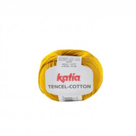 Tencel-Cotton Mosterdgeel