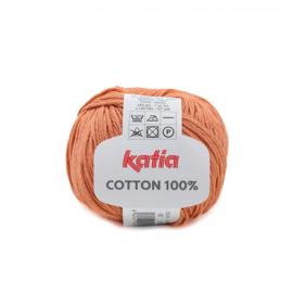 Cotton 100% Roestbruin