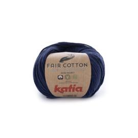 Fair Cotton Marineblauw