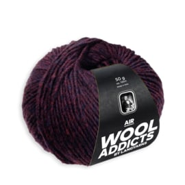 Wooladdicts Air Wijnrood