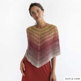 Poncho Silk Degrade