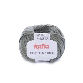 Cotton 100% Kaki