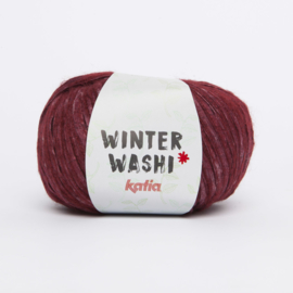 Winter Washi Wijnrood