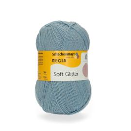 Regia Soft Glitter 100gr Lichtblauw