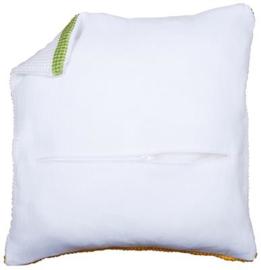 Kussenrug met rits - Wit