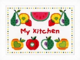Vervaco 'Fruit in de keuken'
