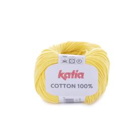 Cotton 100% Geel