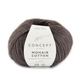 Mohair Cotton Aubergine