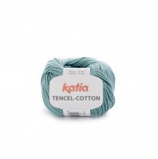 Tencel-Cotton Waterblauw