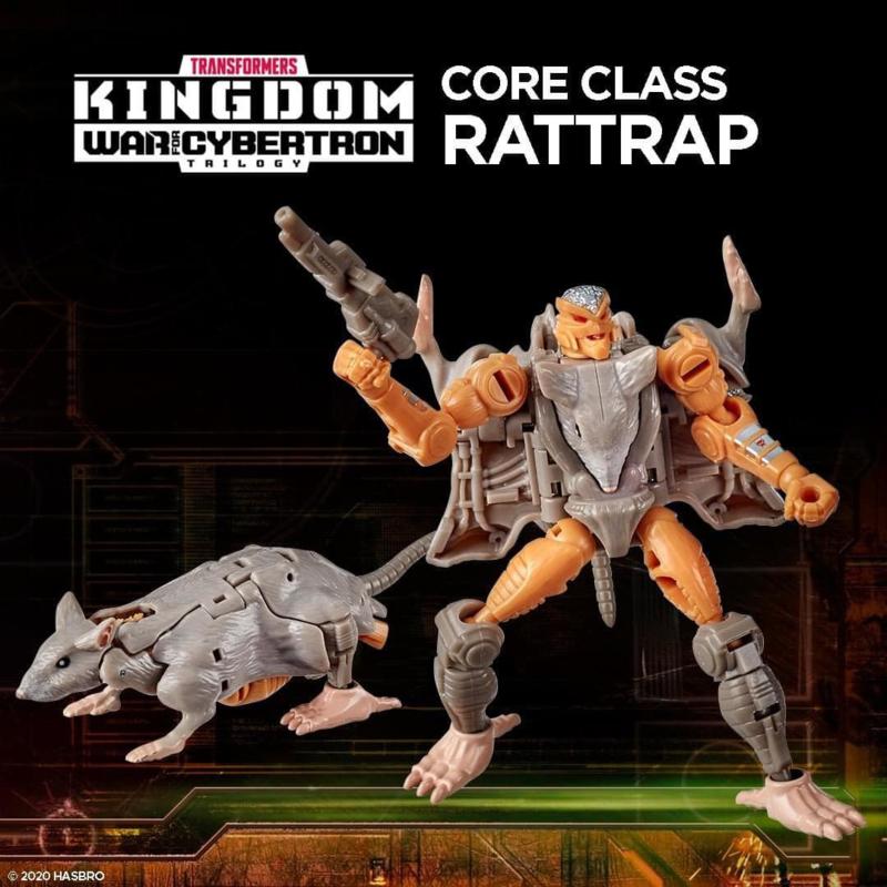 F0664 Kingdom Core Rattrap [case of 8 pcs]