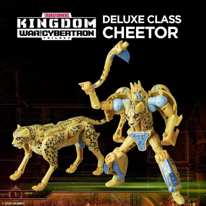 F0669 Kingdom Deluxe Cheetor [case of 8 pcs]