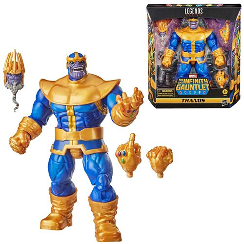 F0220 Marvel Legends Series Thanos 6-inch Action Figure [case of 4 pcs]