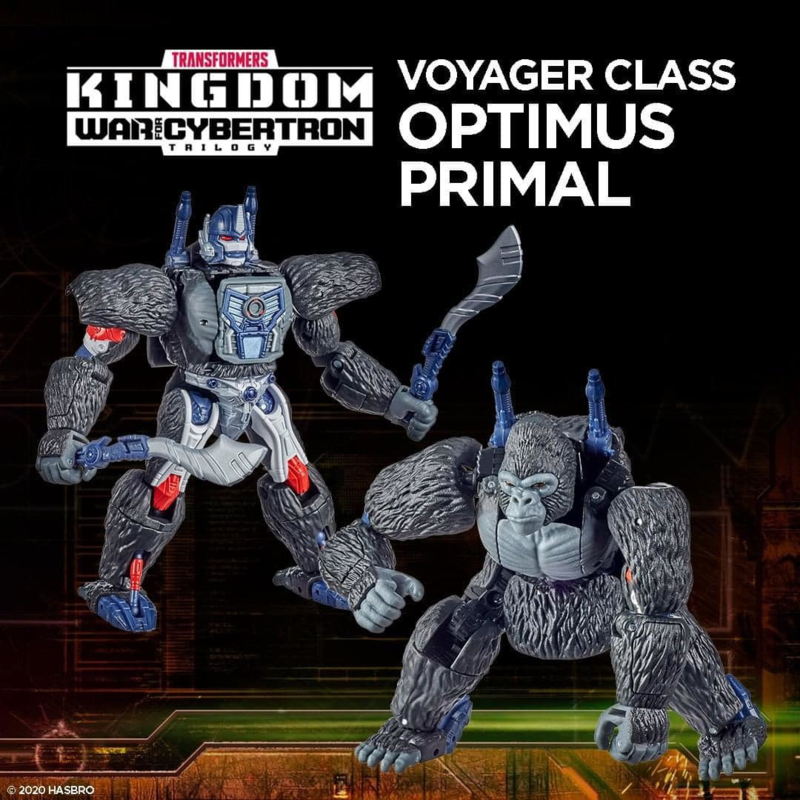 F0691 Kingdom Voyager Optimus Primal [case of 3 pcs]