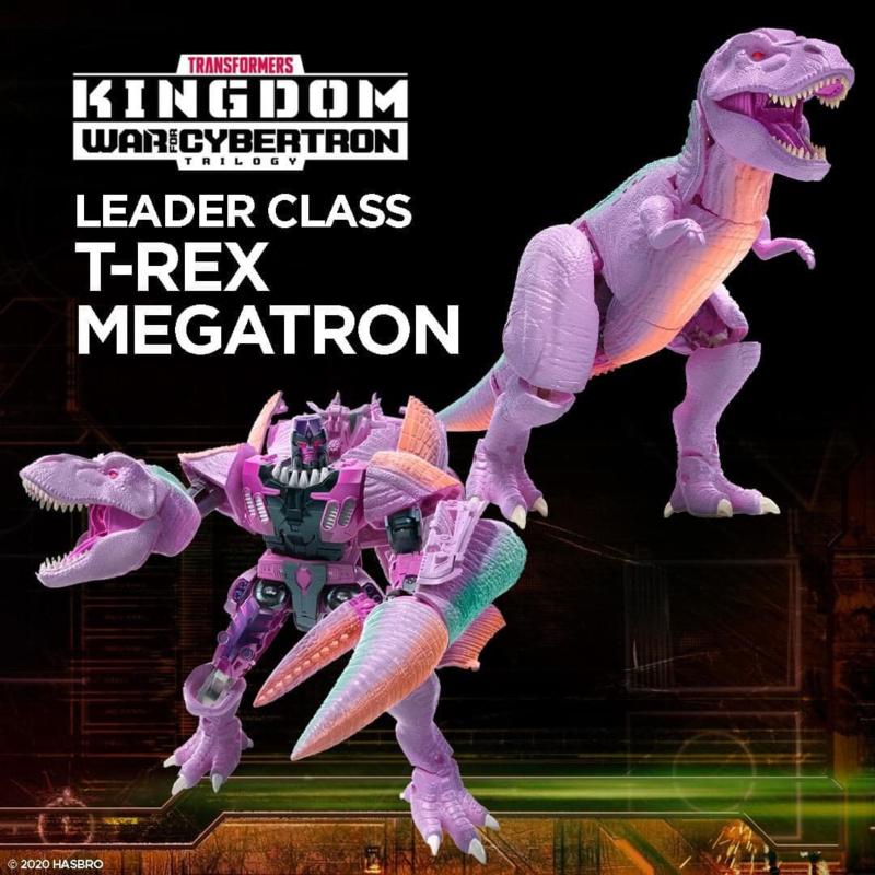 F0698 Kingdom Leader Trex Megatron [case of 2 pcs]