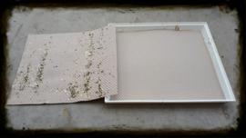 Honingraat bodempapier 60cm x 50cm 500 stuks