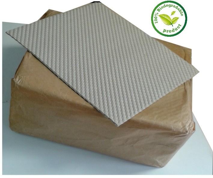 Honingraat bodempapier 37cm x 37,5cm 500 stuks (Gehu 40x40)