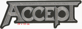 Accept - logo Backpatch