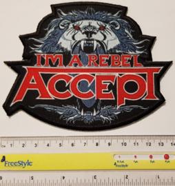Accept - I'm a Rebel Patch
