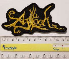 Agalloch - Logo Patch Yellow