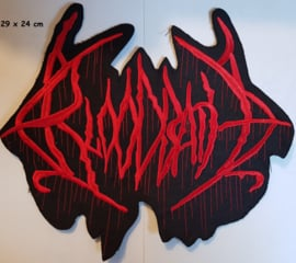 Bloodbath - Logo backpatch