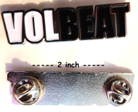 Volbeat - logo pin