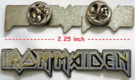 Iron Maiden - logo pin