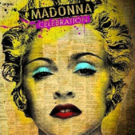 Depeche Mode / Nirvana / Coldplay / Black Eyed Peas / Kings Of Leon / Madonna /  - Greetingscards set of 4 pieces