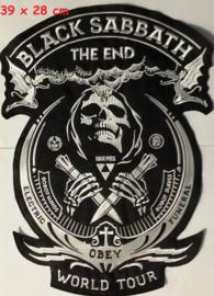 black Sabbath - the end backpatch