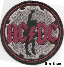 AC/DC - round patch