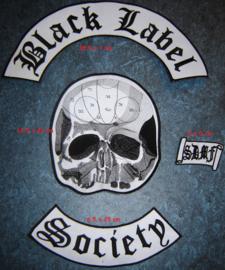 Black Label Society  - Backpatch set