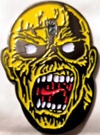 Iron Maiden - Piece of mind pin