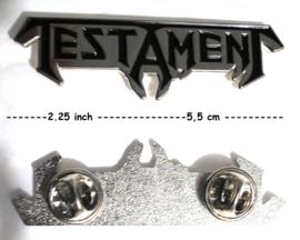 testament - pin