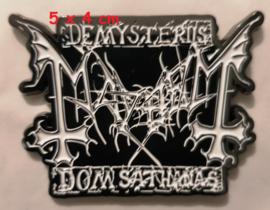 Mayhem - Demysterus pin