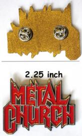 Metal Church - pin