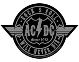 AC/DC - rock n roll will never die cut out