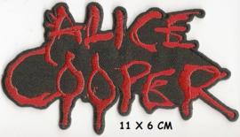 alice cooper - logo patch