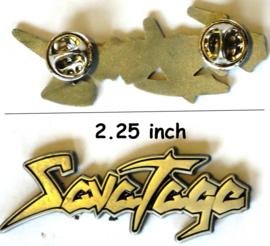 Savatage - Logo pin
