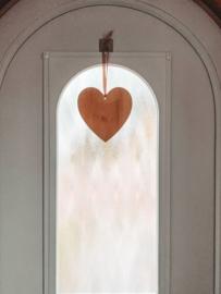 Zirben hart rood lintje