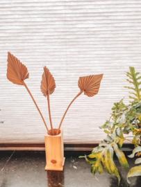 Zirben houten vaas