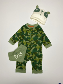 Driedelig boxpakje camouflage