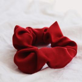 Scrunchie deep red