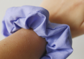 Scrunchie lila