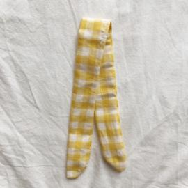 Lint geel boerenbont