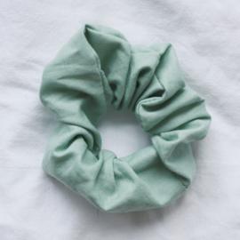 Scrunchie mint groen
